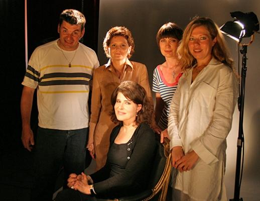 Легенда французского кино Фанни Ардан в гостях у «Историй в деталях». 2005г.